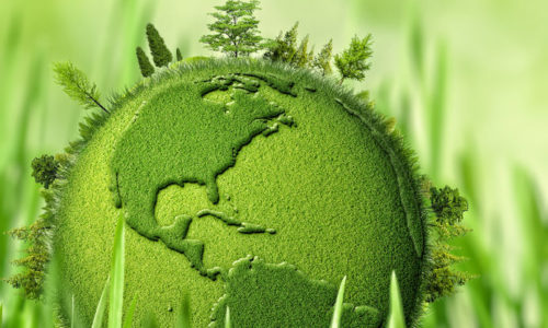 45007266 - green planet, abstract environmental backgrounds