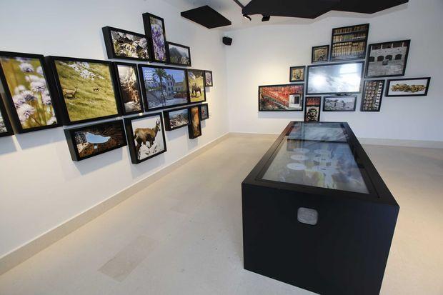 centar za posjetitelje makarska, iznutra
